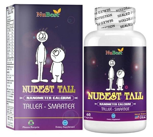 Sản phẩm hỗ trợ tăng chiều cao NuBest Tall